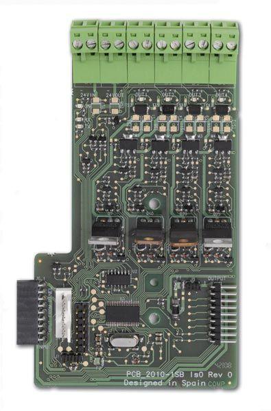 2010-1-SB Deska 4 hlídaných výstupů pro ústředny řady KFP