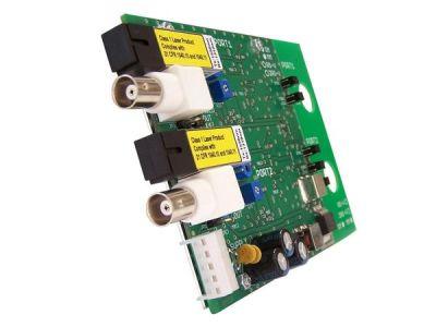 2RS-V-RACK Přijímač 2 videosignálů po optickém kabelu, RACK