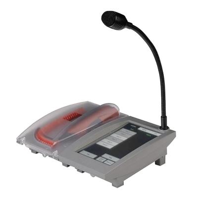 4E-FMTC Evakuační a provozní mikrofon s displejem na stůl nebo na stěnu