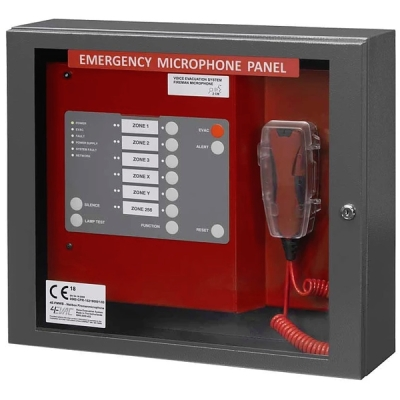 4E-FMWB Ovládací panel evakuační ústředny