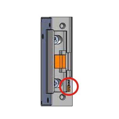 53-1-00B Elektrický otvírač IMPULSNÍ, mech. blokace 9-16V AC/DC