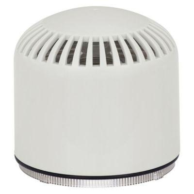 AC/W/S/BB Dvoutónová bílá plastová siréna, povrchová EN54-3