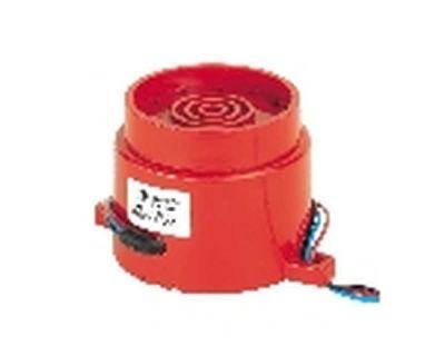 AF/R/S Dvoutónová červená plastová siréna