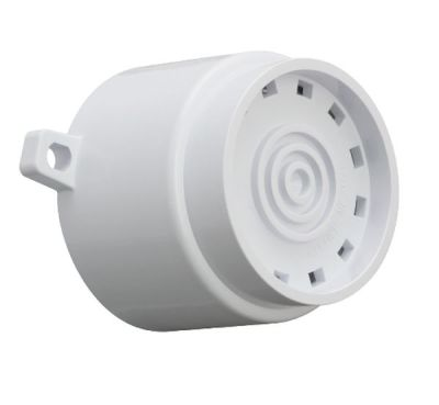 AF/W/S Dvoutónová bílá plastová siréna