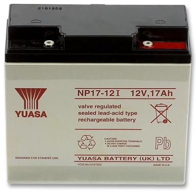 AKU-12V/17Ah-NP Bezúdržbový VRLA akumulátor 12V, kapacita 17Ah