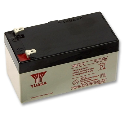 AKU-12V/1.2Ah-NP Bezúdržbový VRLA akumulátor 12V, kapacita 1.2Ah
