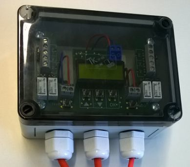 ALARM-WIRE-2 Lineární teplotní hlásič 2 okruhový