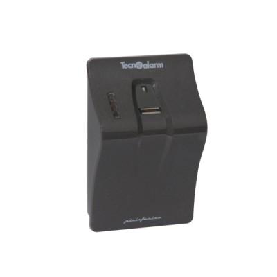 APR-FINGER-CARD-G Přídavná ovládací jednotka k ústřednám - otisky / karty, šedá