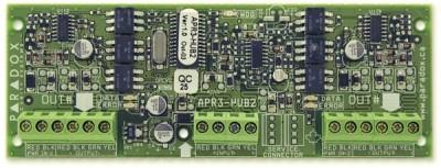 APR3-HUB-2 Posilovač datové sběrnice pro ústřednu SPECTRA a DIGIPLEX