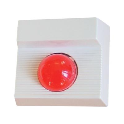 ART-1490-BZR Opticko-akustický poplachový indikátor, červená LED