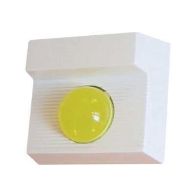 ART-1490-BZY Opticko-akustický poplachový indikátor, žlutá LED