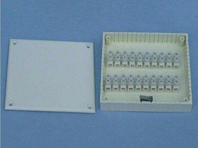 AT-KU-20-O Plastová rozvodná krabička, 20 svorek