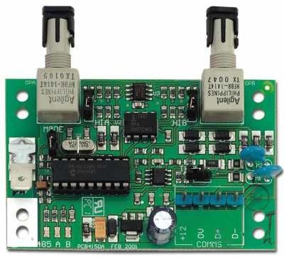 ATS-1743 Převodník datové sběrnice RS-485 na optická vlákna