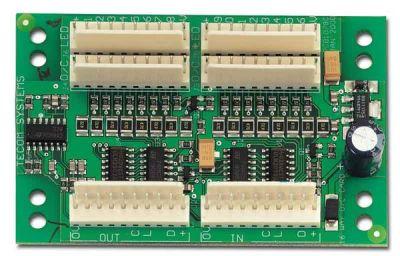 ATS-1820 Subkarta pro rozšíření o 16 PGM výstupů sotev. kolektorem 50mA