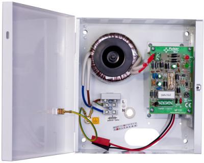 AWZ-100 Zdroj v krytu s prostorem pro AKU 1.2Ah, výstupní proud 1A
