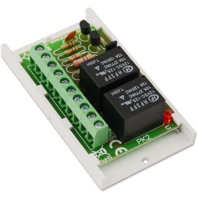 AWZ-508 24V releový modul, 2x NC/NO výstup