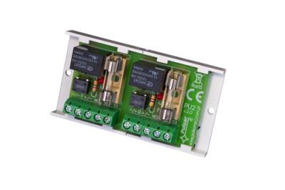 AWZ-512 2 nezávislé 12V reléové obvody se svorkovnicí
