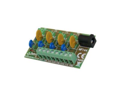 AWZ-575 Pojistkový modul 4x 1A pro napájecí zdroje