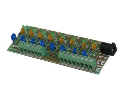 AWZ-579 Pojistkový modul 8x 1A pro napájecí zdroje