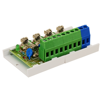 AWZ-589 Pojistkový modul 4x 2A pro napájecí zdroje