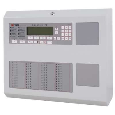 B01080-00 F2-CP-B1 Nesíťovatelná ústředna F2, 1 až 2 kruhové linky, AKU 2x 12Ah