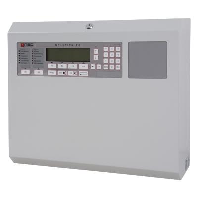 B01090-00 F2-CP-B2 Nesíťovatelná ústředna F2, 1 až 2 kruhové linky, AKU 2x 12Ah