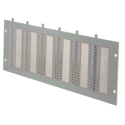 B01200-00 F1-PLATE-96 Čelní panel pro 96 LED indikací ústředen F1