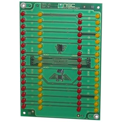 B01220-00 F-CARD-LED Karta 32 LED indikací pro ústředny F1 a F2