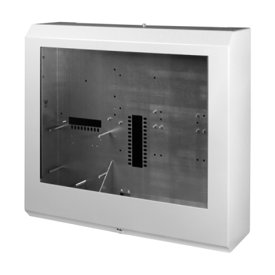 B01405-00 F1-BOX-A2 Skříň ústředny F1 pro 3 linkové karty, indikace a AKU 18Ah