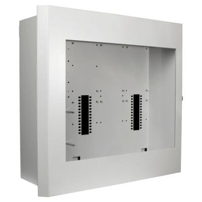 B01407-00 F1-BOX-D2 Zápustná skříň ústředny F1 pro 3 linkové karty, indikace a AKU 24Ah