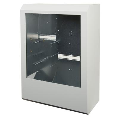 B01425-00 F1-BOX-C2 Skříň ústředny F1 pro 9 linkových karet, indikace a AKU 65Ah