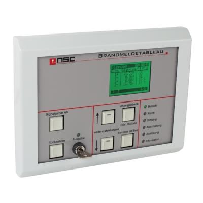 B01520-04 F-TAB-LCD Opakovací tablo s LCD displejem pro ústředny F1 a F2