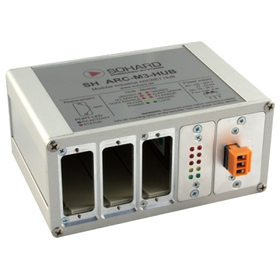 B01530-00 SH-ARC-M3-HUB Trojitý rozbočovač sítě ARCNET