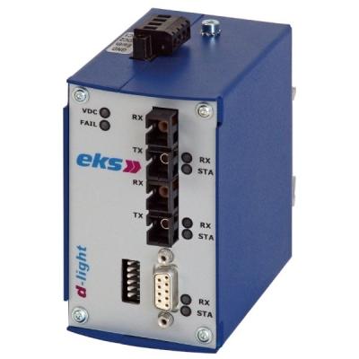 B01551-02 DL-485/2-SM Dvojitý převodník ARCNET RS485 na optiku 1310nm SM