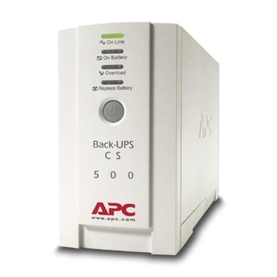 Back-CS-500 Zálohovací UPS zdroj off-line, výkon 500VA