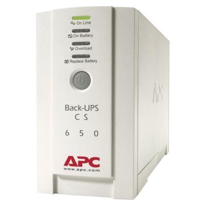 Back-CS-650 Zálohovací UPS zdroj off-line, výkon 650VA