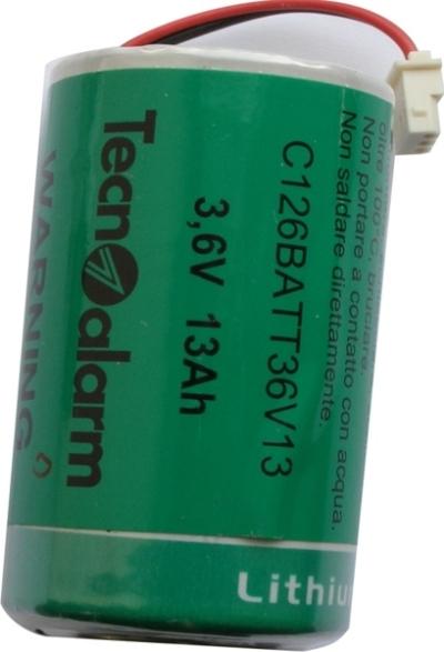 BAT-3.6V-13Ah Lithiová baterie - 3.6V Tecnoalarm