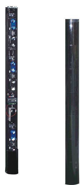 BEAM-TOWER-8 Sloupová infrazávora, výška 2.462mm, 8 paprsků, dosah 100m