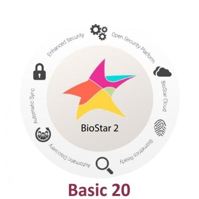 BioStar2 Basic Software pro správu systému - Basic