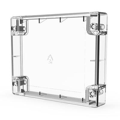 CHQ-BOX-LID(WHT) Čelní kryt v bílé barvě