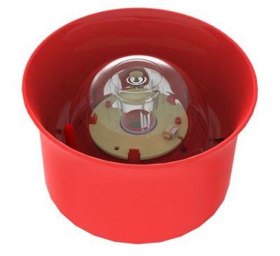 CHQ-WSB2/WL Nástěnná červená siréna s majákem