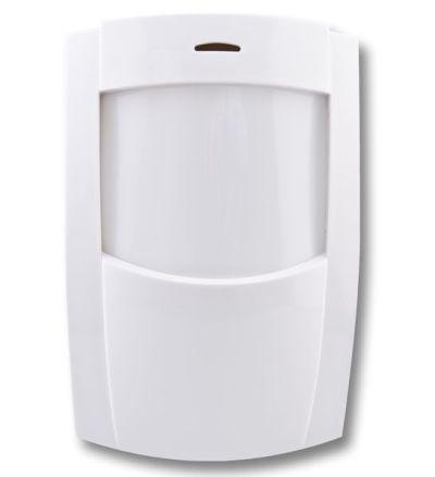 COMPACT-PW-W Vnitřní bezdrátový PET infrapasivní detektor pohybu, dosah 12m