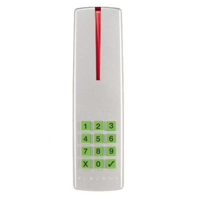 R915-stříbrná Kombinovaná čtečka sklávesnicí pro systém DIGIPLEX-ACCESS