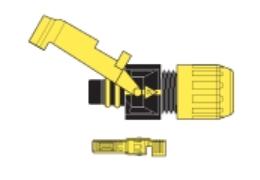 SF3-G-34011 Konektor pro solární kabely kompatibilní s MC3-F zásuvka