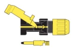 SM3-G-34010 Konektor pro solární kabely kompatibilní s MC3-M vidlice