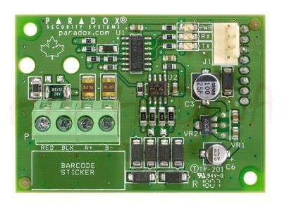 CVT-485 Převodník pro připojení PCS-200 k ústřednám SPECTRA a EVO