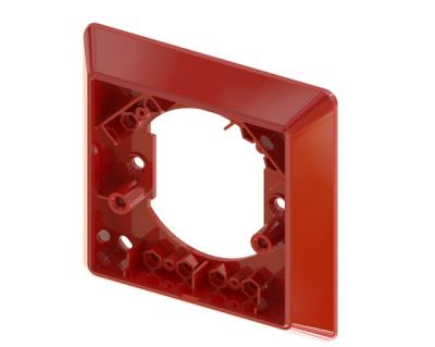 CXBZ/4T/O Červený rámeček pro povrchovou montáž tlačítka CXM
