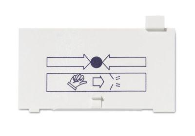DMN-800 Plastová náhrada sklíčka tlačítkového hlásiče
