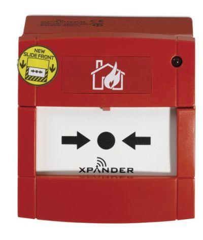 DMN-960-I Adresný tlačítkový hlásič pro vnitřní použití s izolátorem