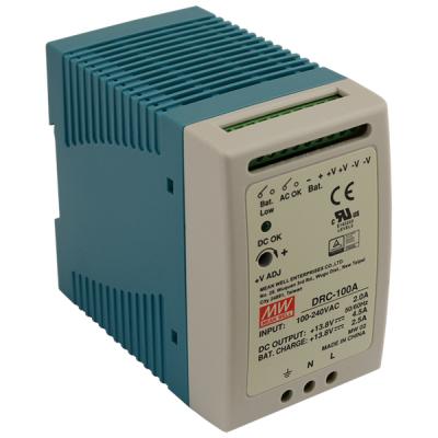 DRC-100A Zálohovaný napájecí zdroj pro EZS, 13,8V výstupní proud 4,5A